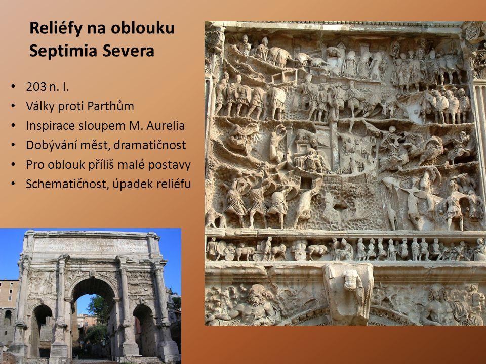 Reliéfy na oblouku Septimia Severa