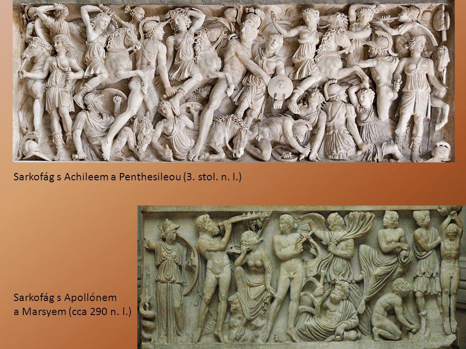 Sarkofág s Achileem a Penthesileou (3. stol. n. l.)