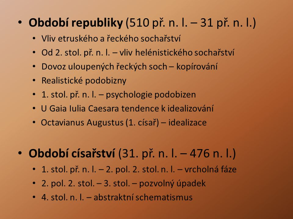 Období republiky (510 př. n. l. – 31 př. n. l.)