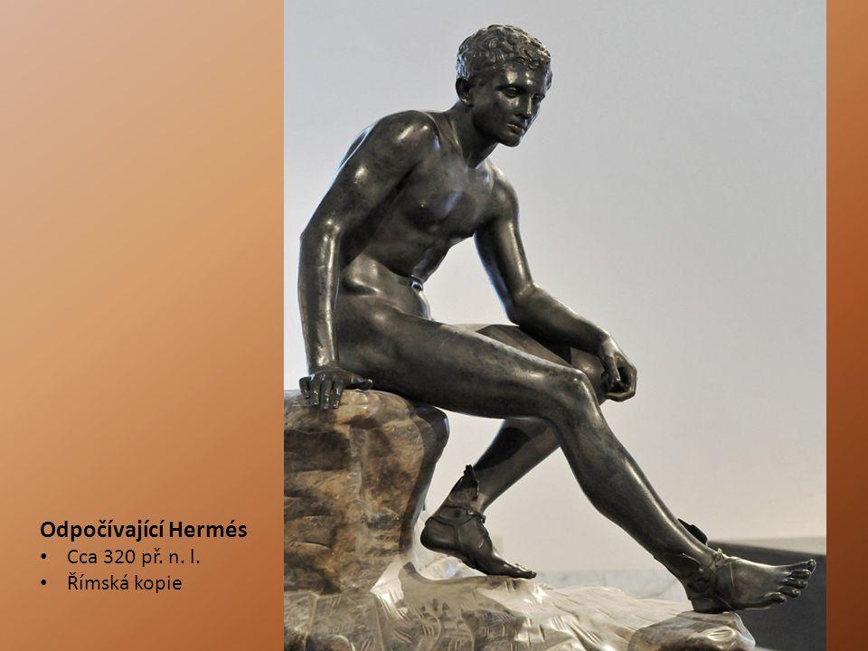 Odpočívající Hermés Cca 320 př. n. l. Římská kopie
