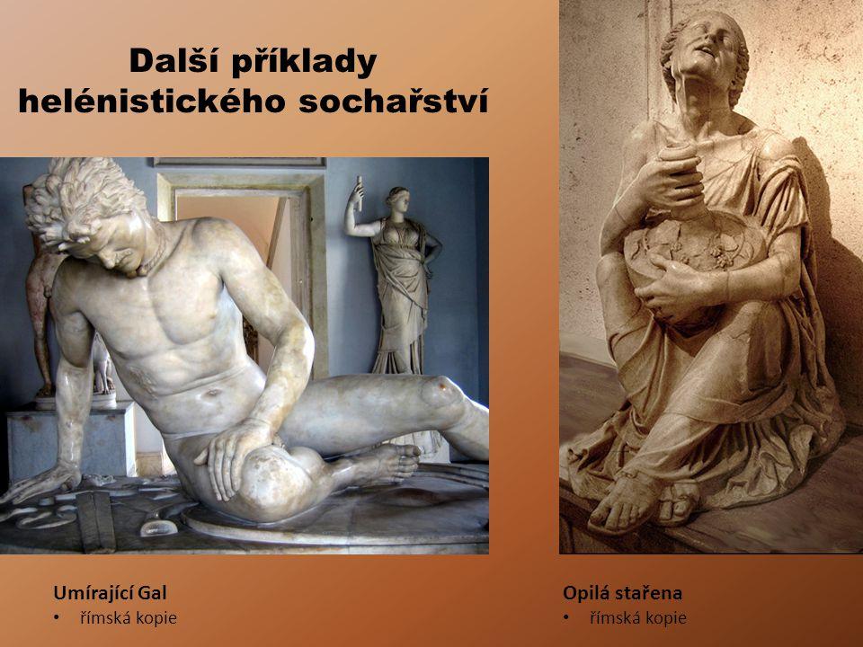 Další příklady helénistického sochařství