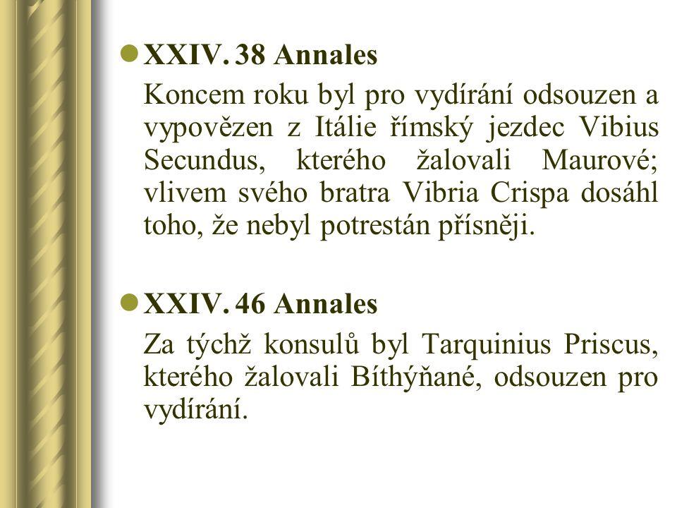 XXIV. 38 Annales