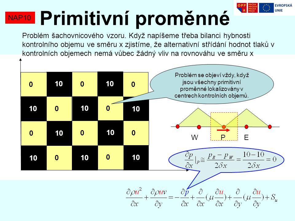 Primitivní proměnné NAP10