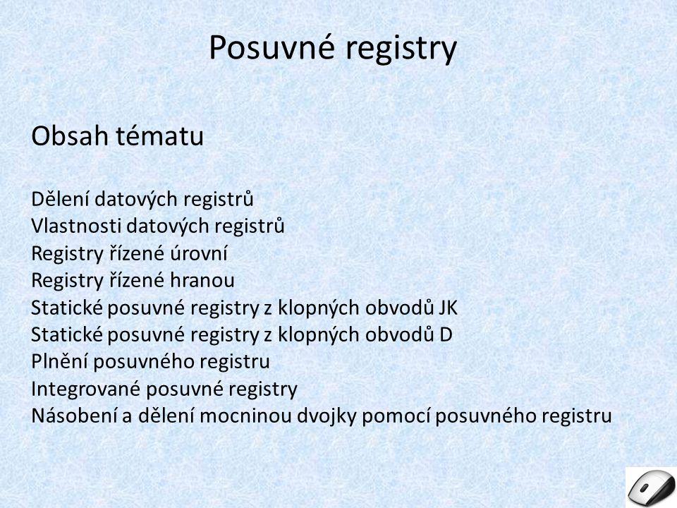Posuvné registry