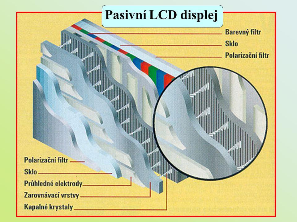 Pasivní LCD displej