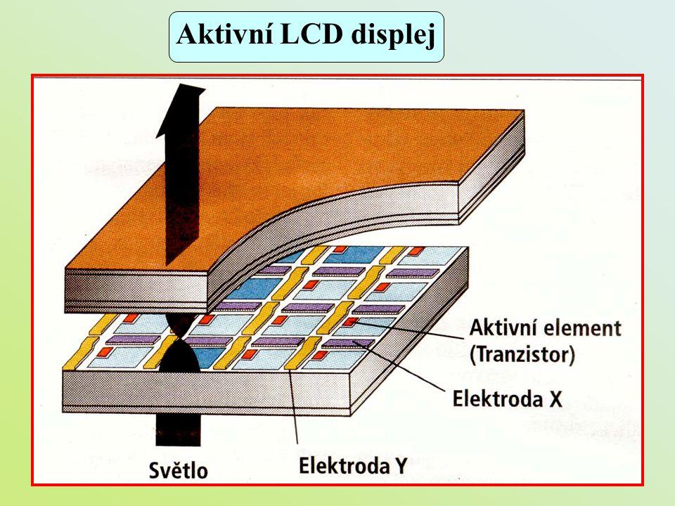 Aktivní LCD displej