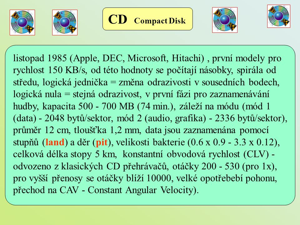 CD Compact Disk