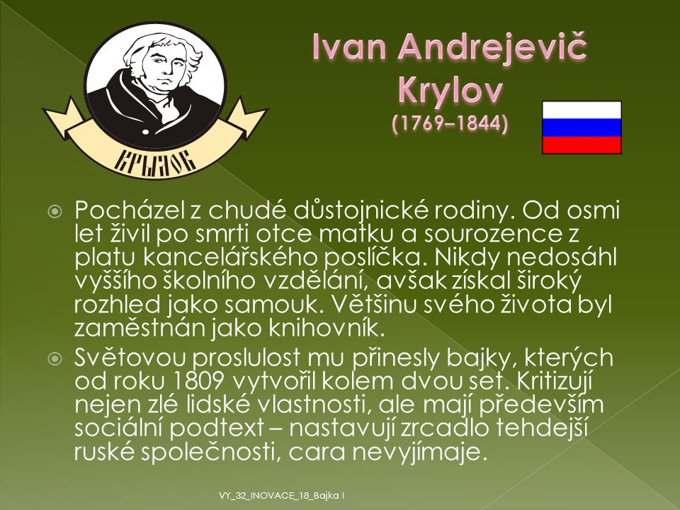 Ivan Andrejevič Krylov (1769–1844)