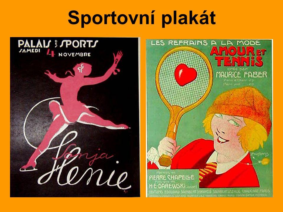 Sportovní plakát