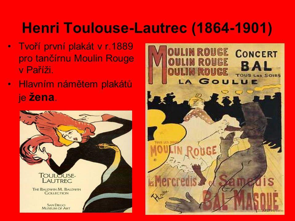 Henri Toulouse-Lautrec (1864-1901)