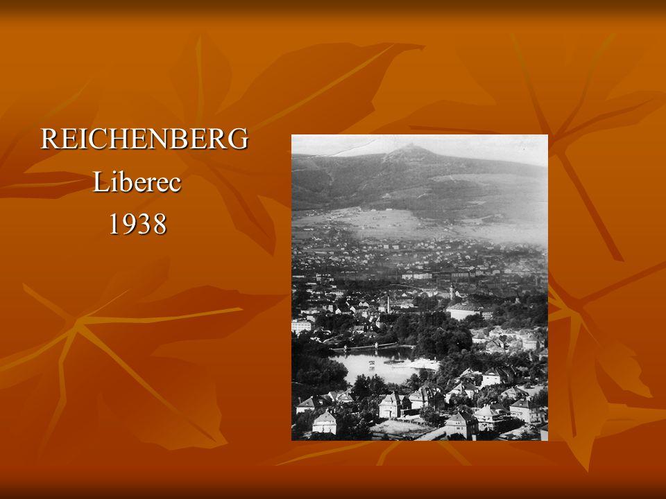 REICHENBERG Liberec 1938