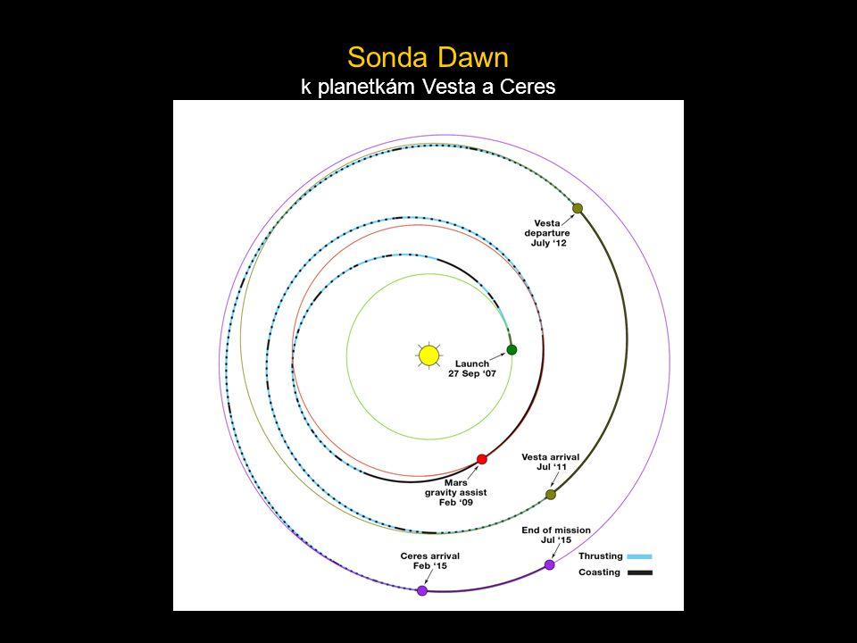 k planetkám Vesta a Ceres