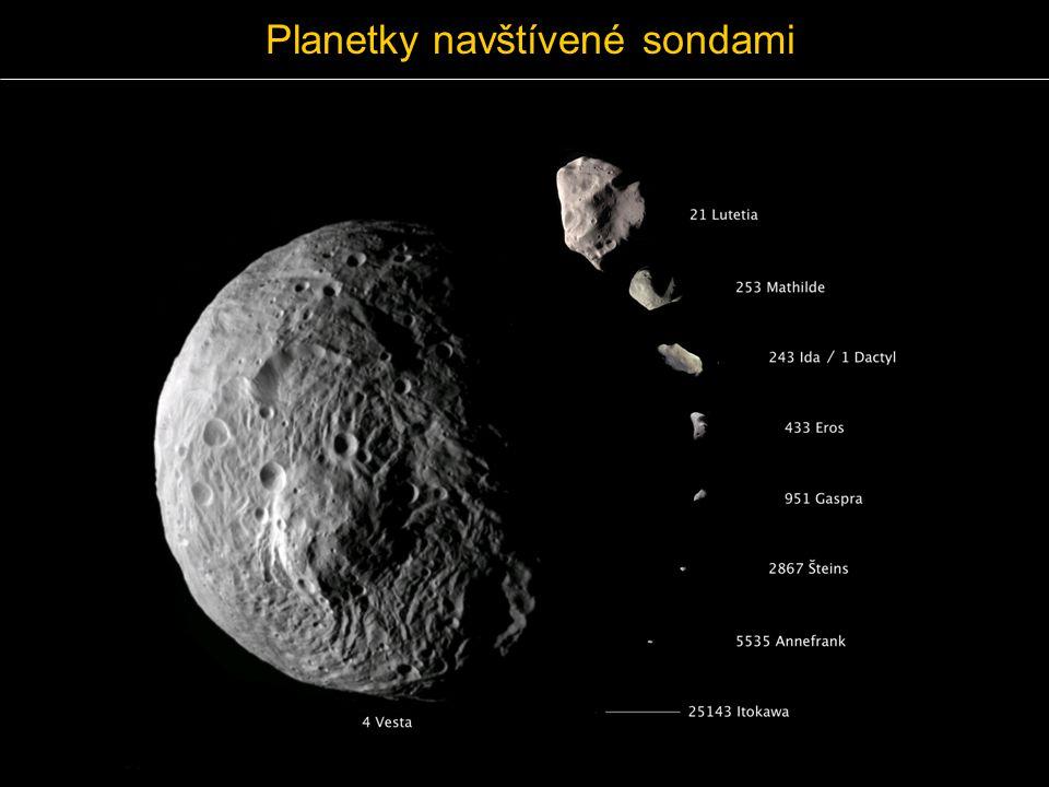 Planetky navštívené sondami