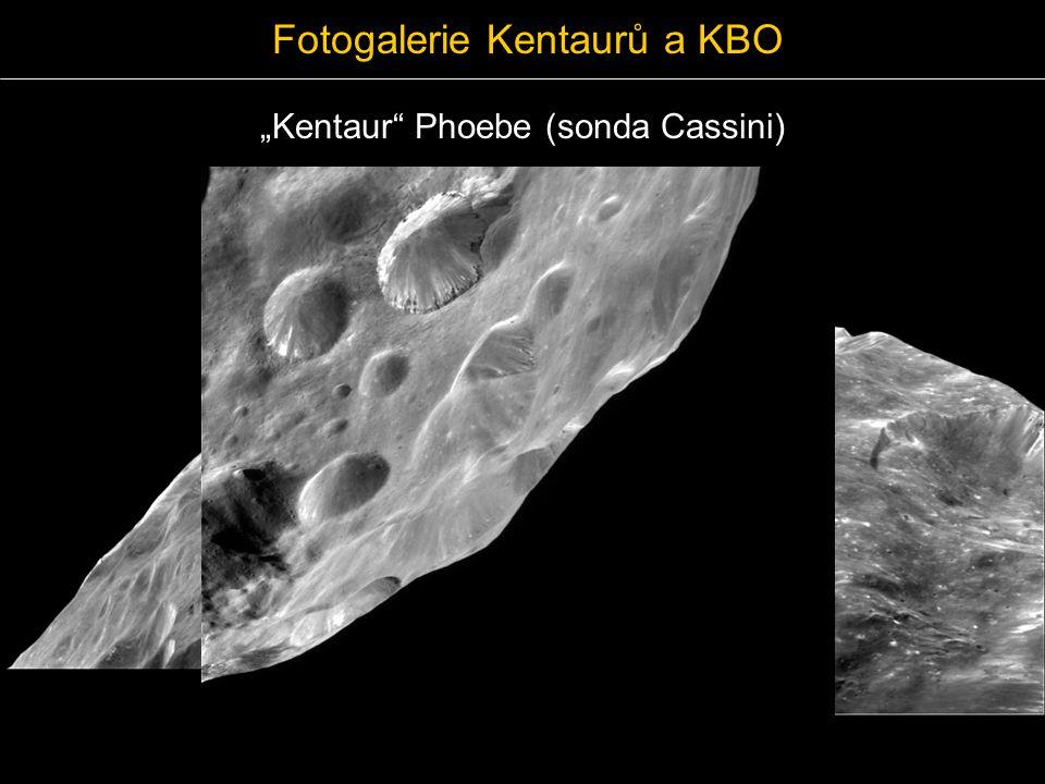 """Fotogalerie Kentaurů a KBO """"Kentaur Phoebe (sonda Cassini)"""