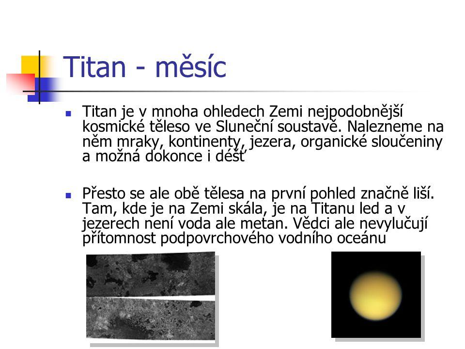 Titan - měsíc