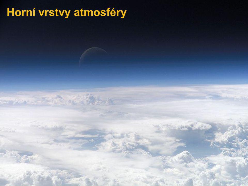 Horní vrstvy atmosféry