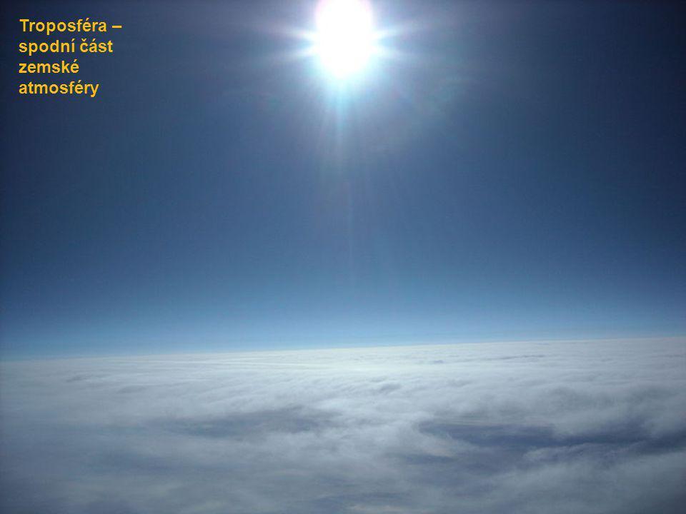 Troposféra – spodní část zemské atmosféry
