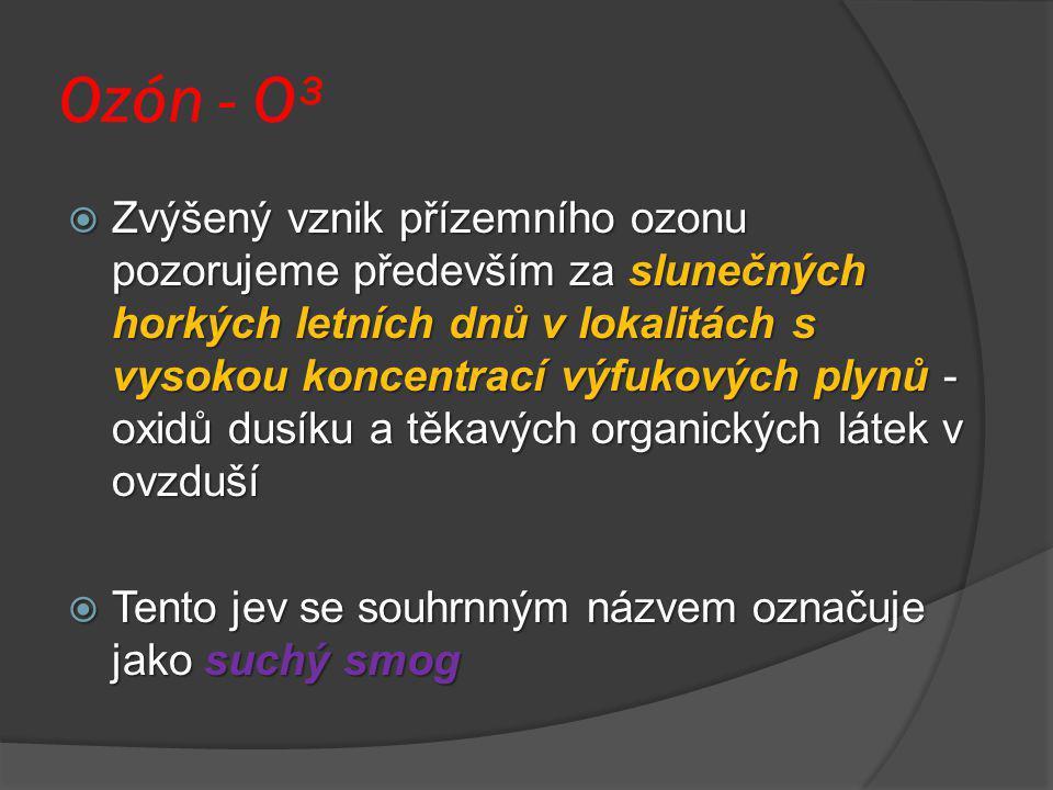 Ozón - O³