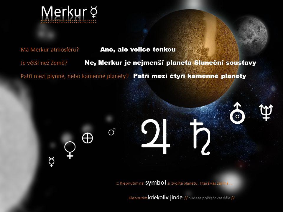 Merkur :::::::::::::::::::::::::::::: Má Merkur atmosféru
