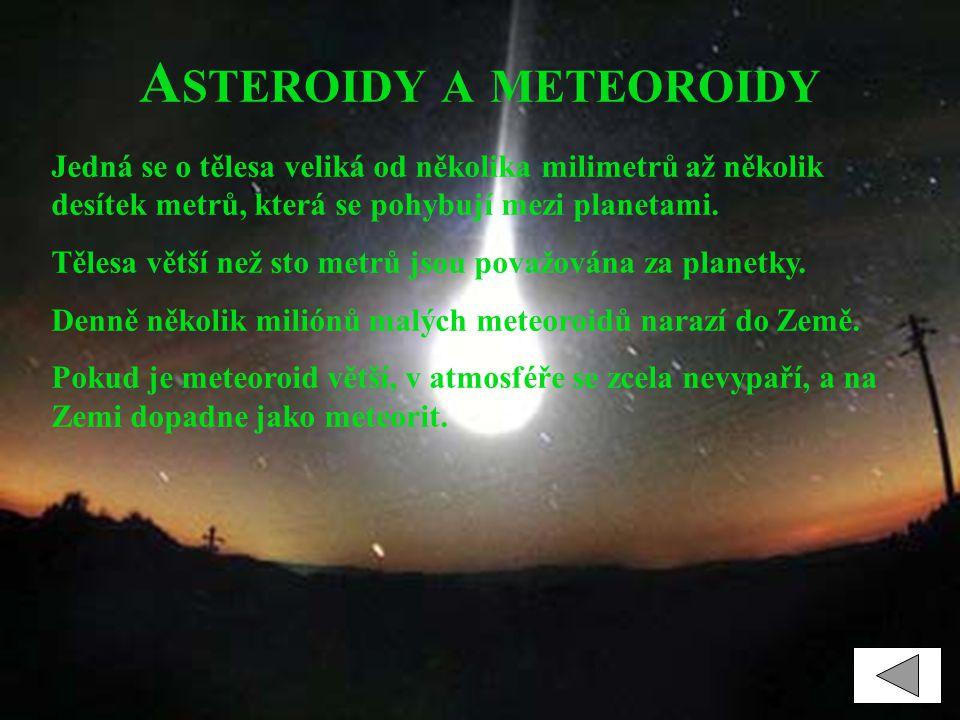 Asteroidy a meteoroidy