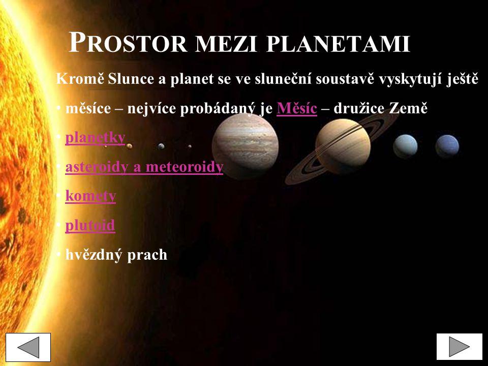 Prostor mezi planetami