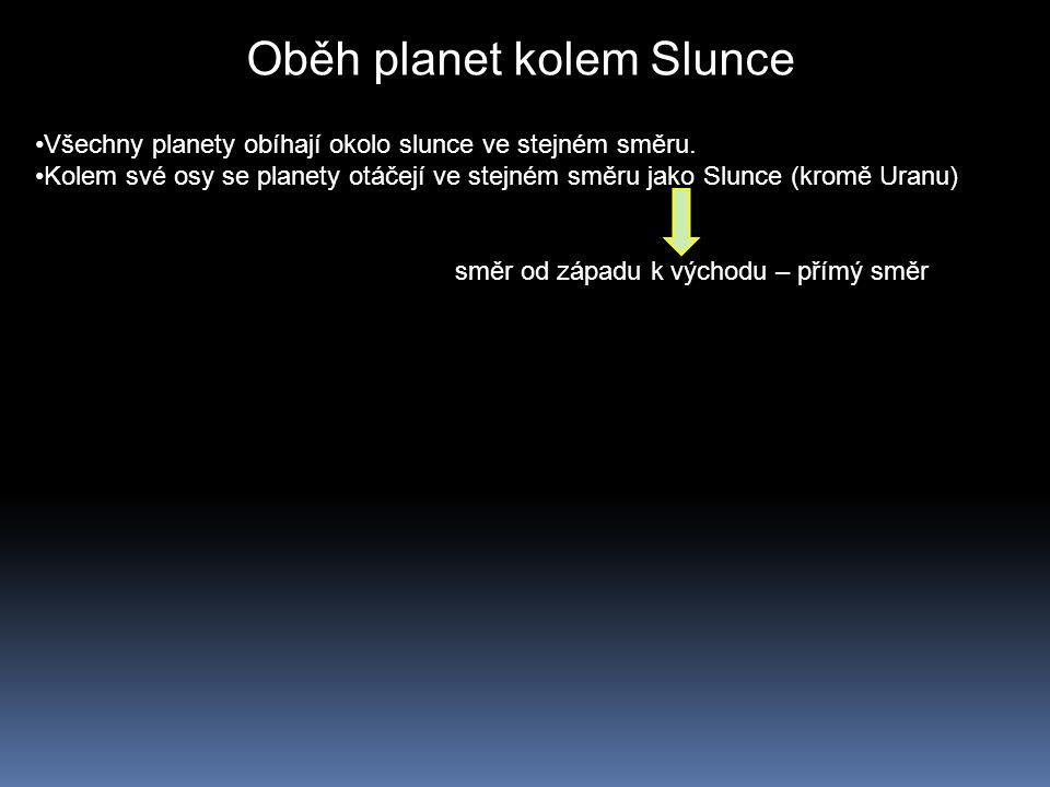 Oběh planet kolem Slunce