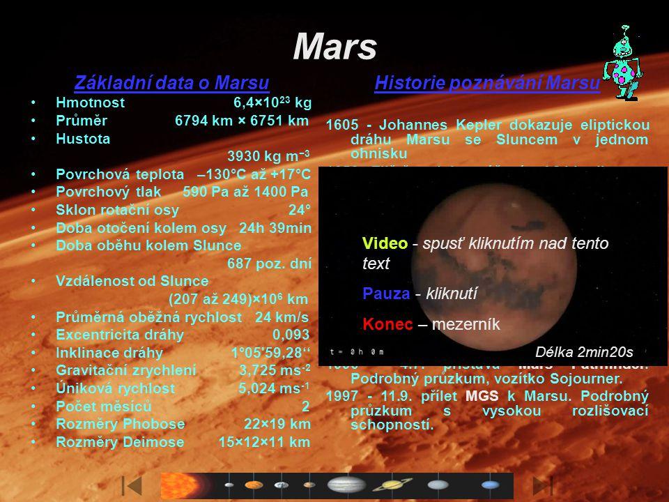Historie poznávání Marsu