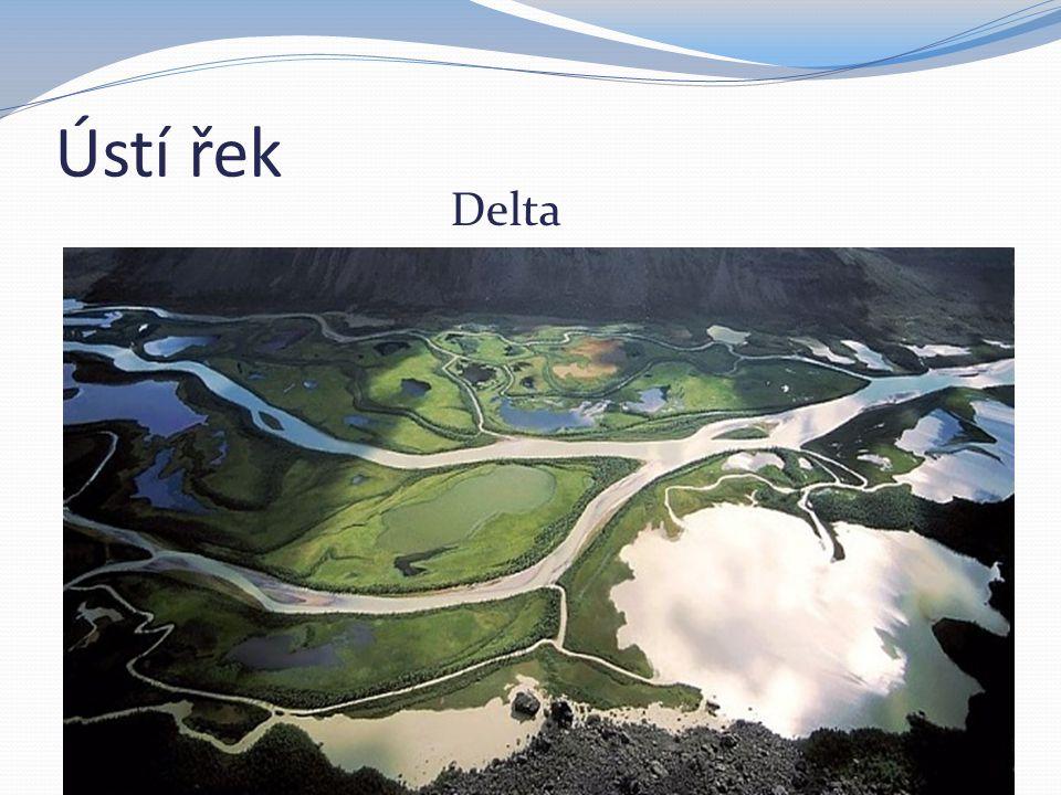 Ústí řek Delta