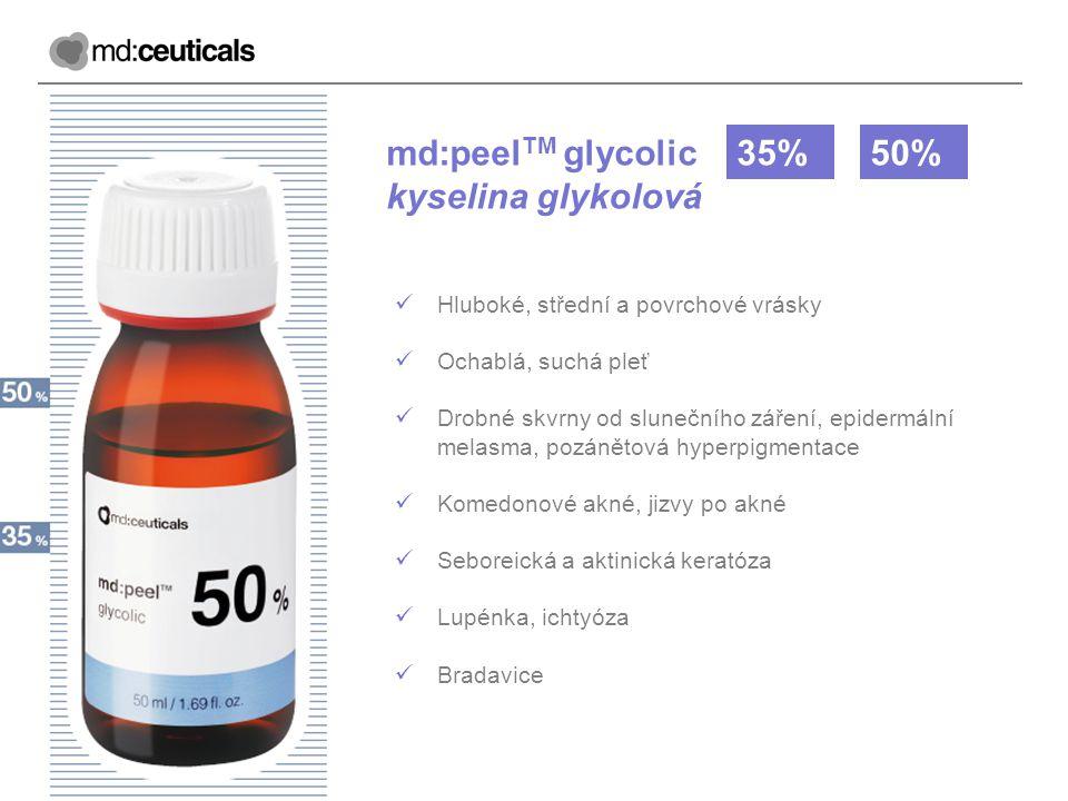 md:peelTM glycolic kyselina glykolová 35% 50%