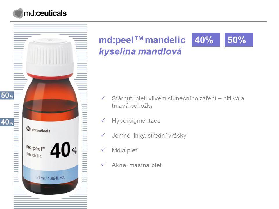 md:peelTM mandelic kyselina mandlová 40% 50%