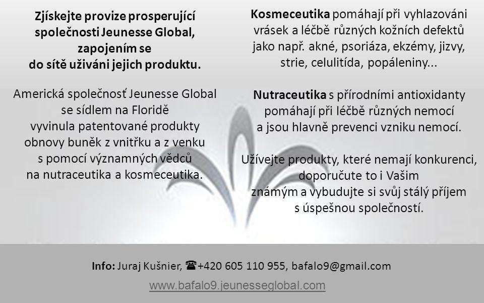Zjískejte provize prosperující společnosti Jeunesse Global,