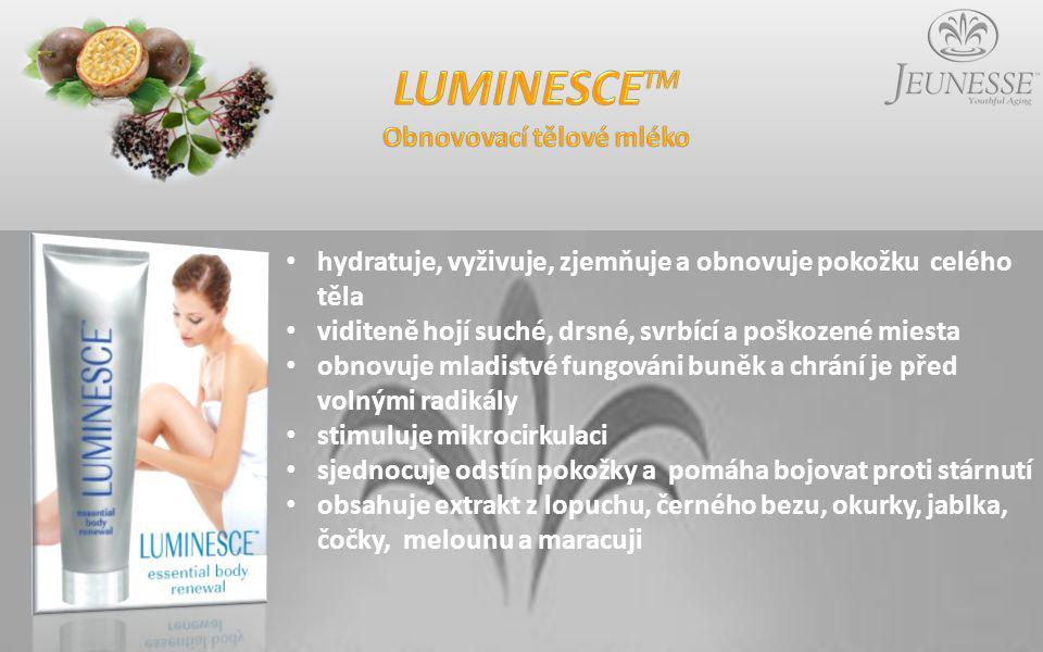 LUMINESCETM Obnovovací tělové mléko