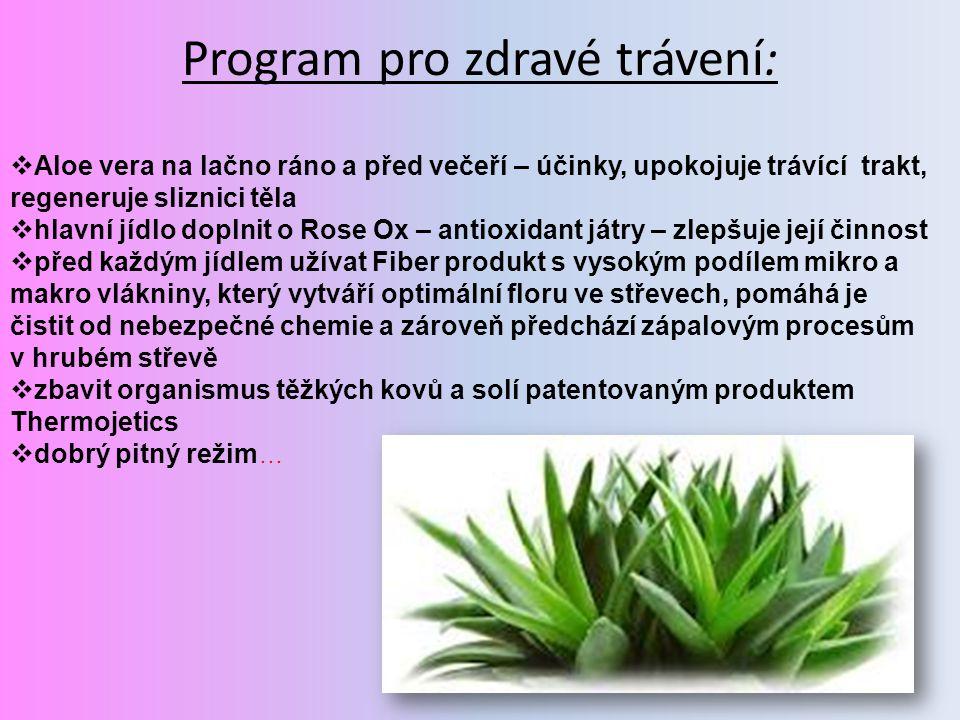 Program pro zdravé trávení: