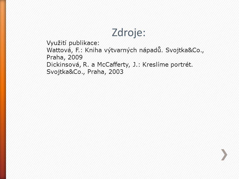 Zdroje: Využití publikace:
