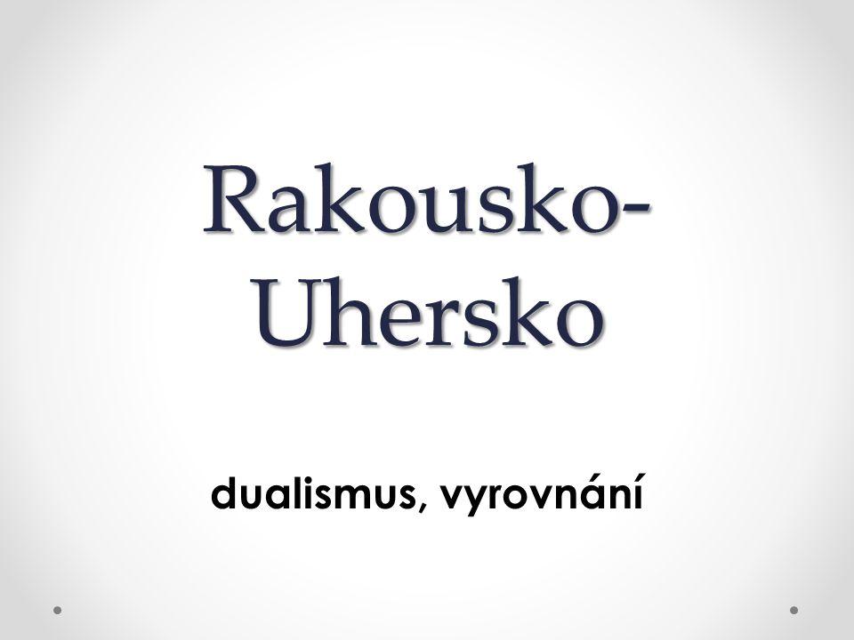 Rakousko-Uhersko dualismus, vyrovnání
