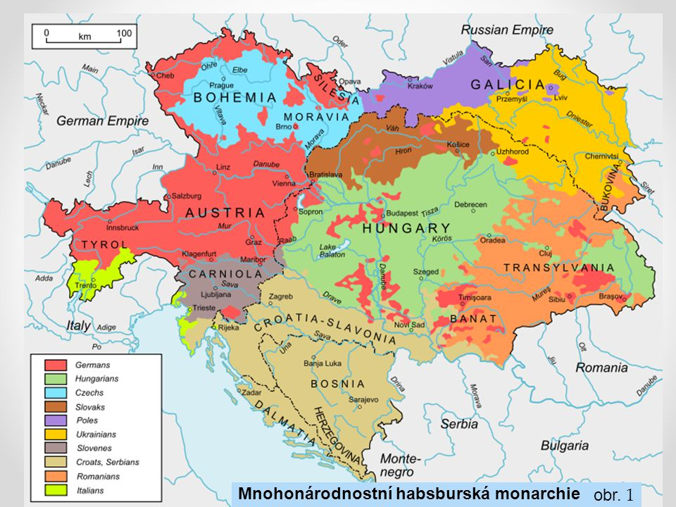 Mnohonárodnostní habsburská monarchie