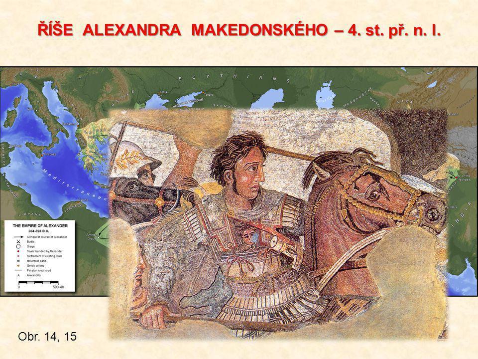 ŘÍŠE ALEXANDRA MAKEDONSKÉHO – 4. st. př. n. l.