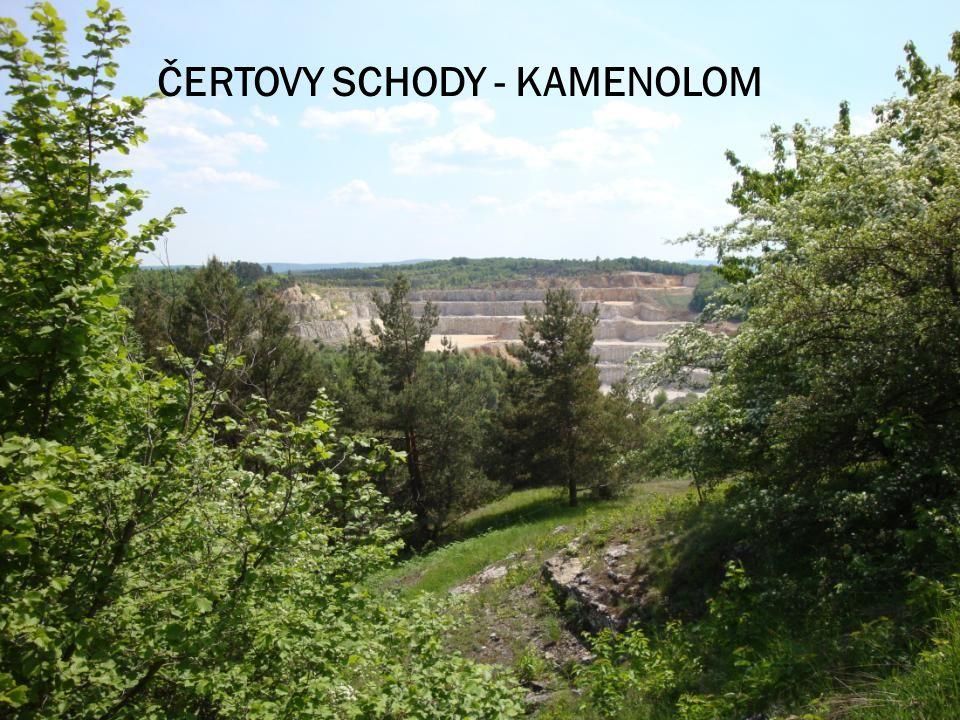 ČERTOVY SCHODY - KAMENOLOM