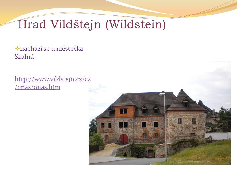 Hrad Vildštejn (Wildstein)