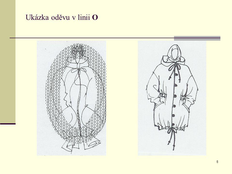 Ukázka oděvu v linii O