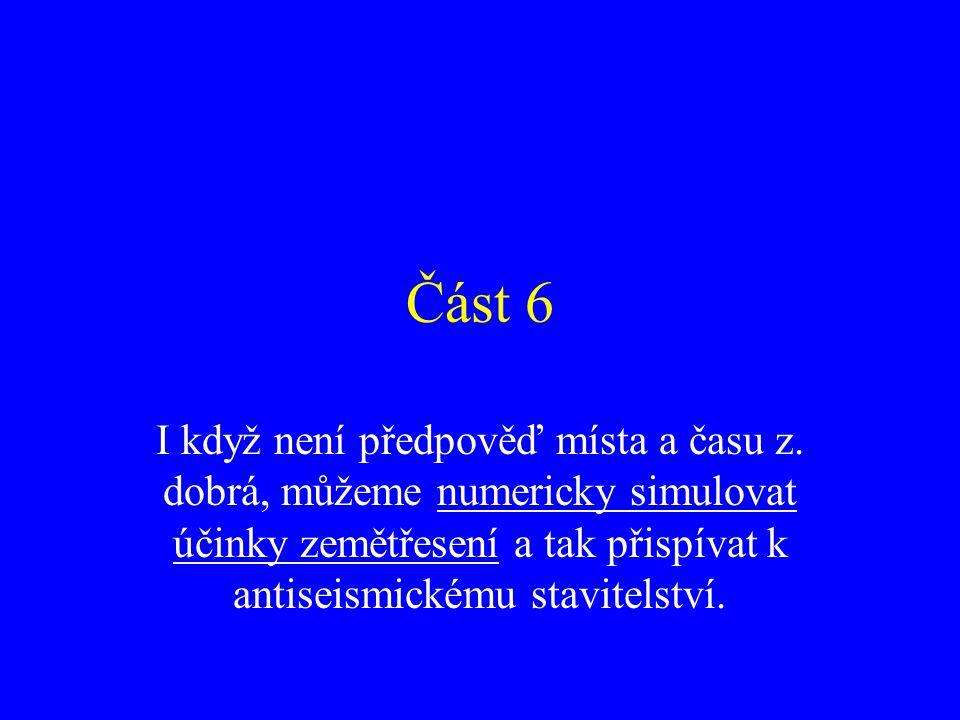 Část 6 I když není předpověď místa a času z.
