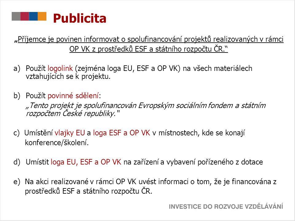 OP VK z prostředků ESF a státního rozpočtu ČR.