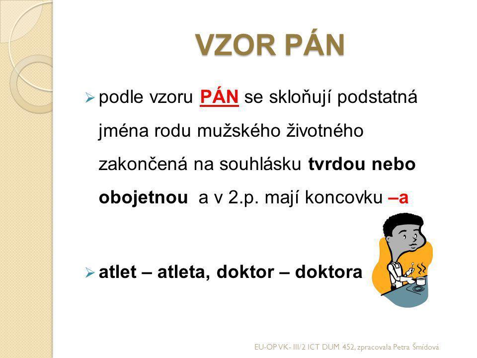 VZOR PÁN