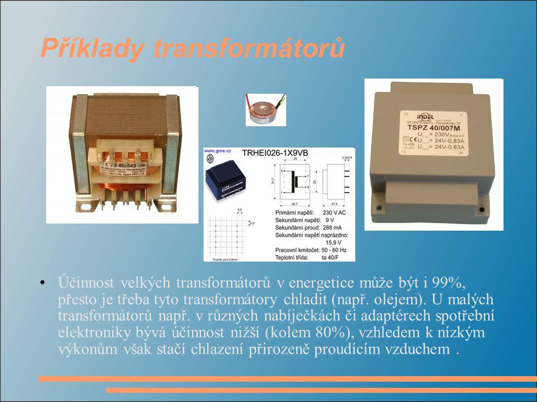 Příklady transformátorů
