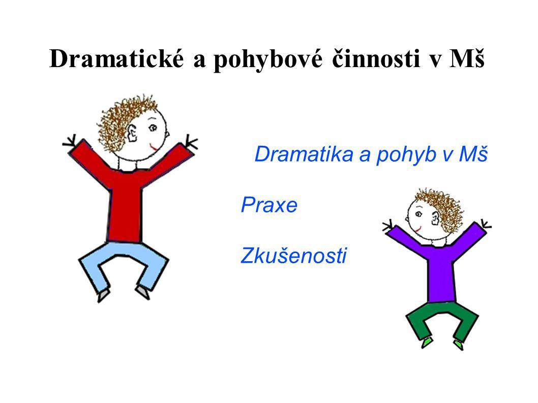 Dramatické a pohybové činnosti v Mš