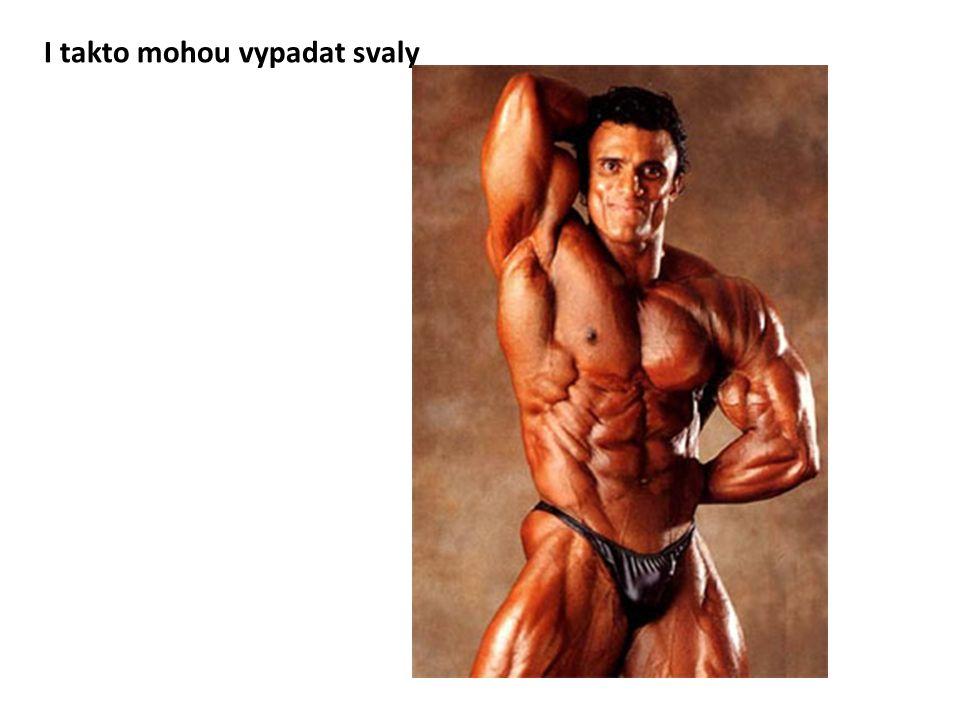 I takto mohou vypadat svaly