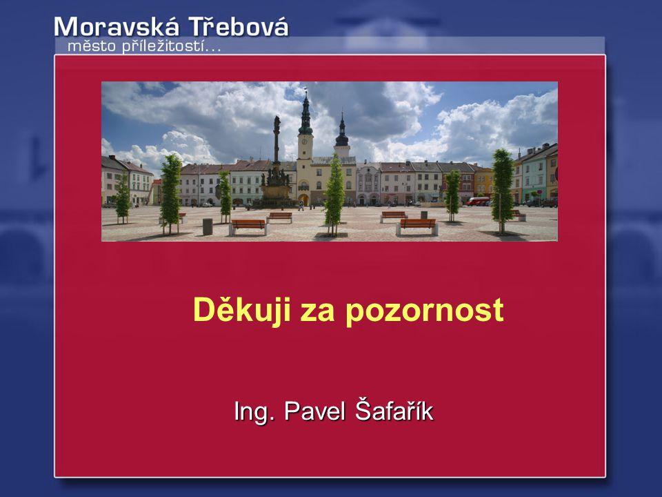 Děkuji za pozornost Ing. Pavel Šafařík