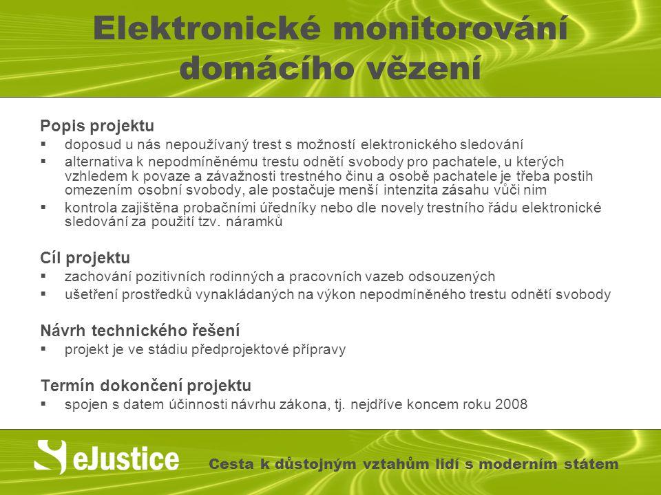Elektronické monitorování domácího vězení