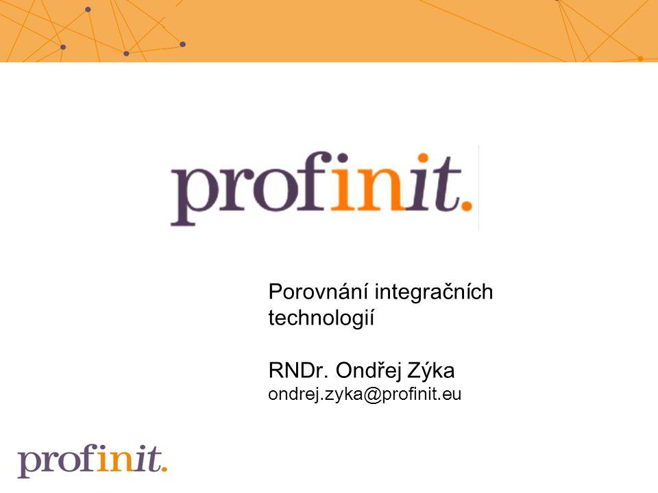 Porovnání integračních technologií
