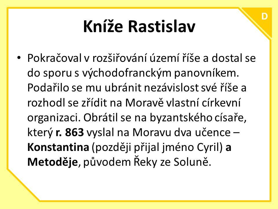 Kníže Rastislav D.